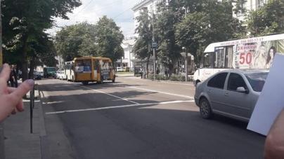 У Житомирі водій маршрутки №19 збив мотоцикліста і зник, – свідок