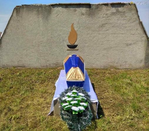 На Житомирщині поховали останки 5 солдатів, які загинули у 1941 році