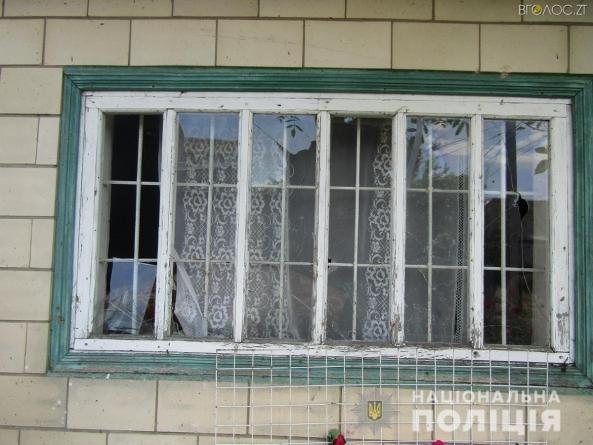 На Житомирщині вночі підірвали гранату біля будинку пенсіонерки