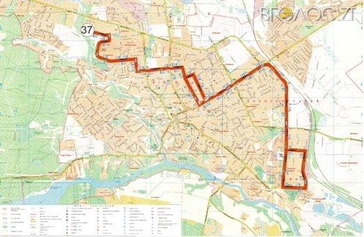 Міськрада шукає перевізника на маршрут №37, щоб укласти тимчасовий договір