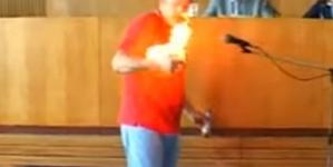 """Підприємцю, який підпалив себе під час сесії Бердичівської міськради, """"світить"""" позбавлення волі"""