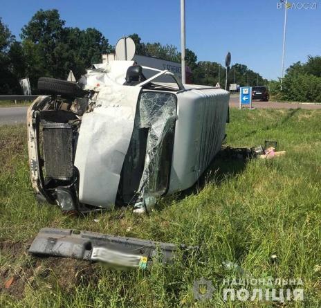 ДТП під Житомиром: водій буса заснув і зіткнувся із пасажирським мікроавтобусом