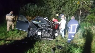 ДТП на півночі області: у лобовому зіткненні автомобілів травми отримали троє людей