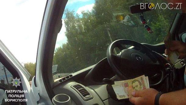 На Покровській затримали п'яного водія, який намагався заплатити гроші патрульним