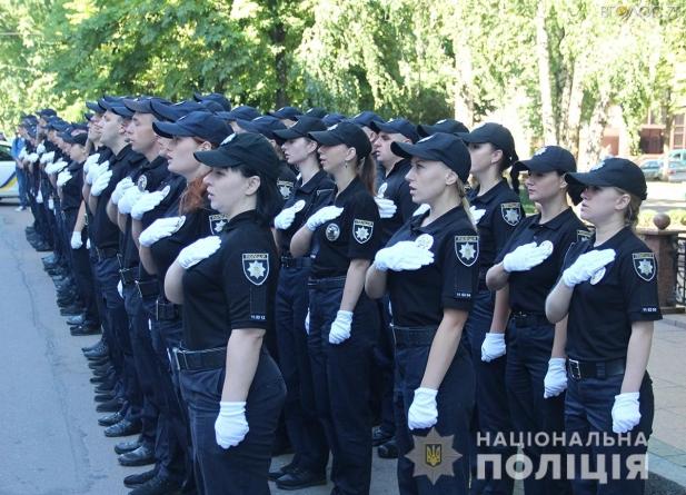 У Житомирі склали присягу поліцейські з 10 областей України