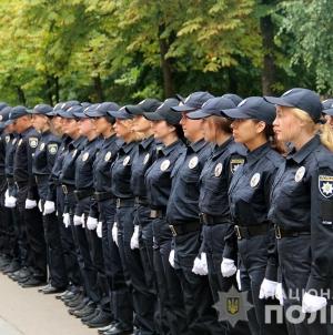 """""""Поповнення"""" у поліції: 22 дівчини та 33 хлопці у Житомирі урочисто склали Присягу"""