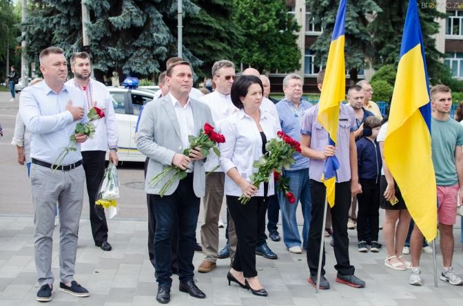 У День Конституції України в Житомирі відбулася патріотична хода