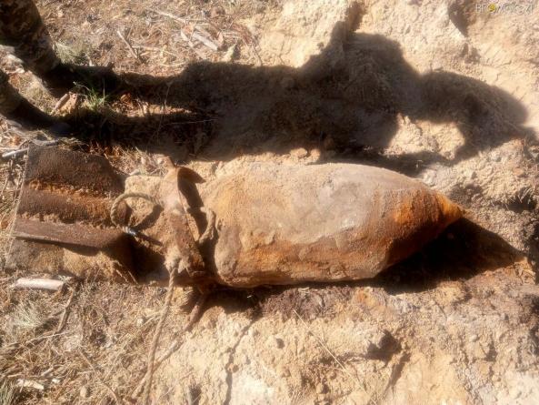 """У Коростишівському районі """"мисливці за металом"""" натрапили на три 100-кілограмові авіаційні бомби"""