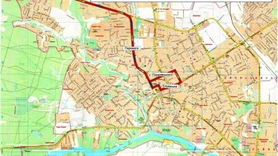 На три дні у Житомирі скасують кілька маршрутів транспорту, а деякі курсуватимуть по-новому