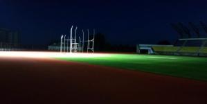На стадіоні «Полісся» протестували нове освітлення