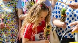 Як Житомиряни освячували квіти на Маковея (ФОТО)
