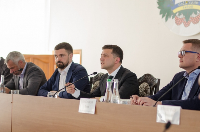 Зеленський наказав звільнити з посад керівників поліції у «бурштинових» районах