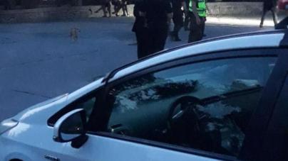 Дві ночі правоохоронці «штурмували» за Будинком правосуддя «барну стійку»