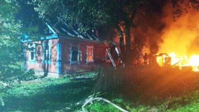 У селі на Житомирщині під час пожежі у житловому будинку загинули батько та син