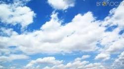 Синоптики обіцяють у вихідні хмарну погоду без опадів