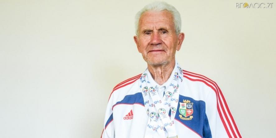 86-річний житомирський плавець привіз 4 медалі з Європейських Ігор