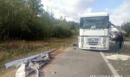 У Коростишівському районі зіштовхнулися дві вантажівки: один із водіїв у реанімації