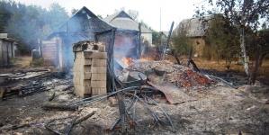 На Житомирщині селянин палив траву, а загорілося одразу 5 дач