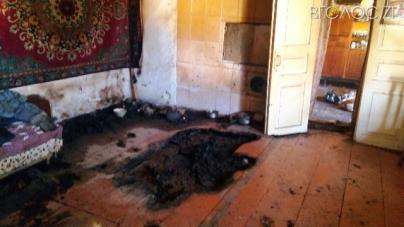 Горіла підлога та диван: під час гасіння пожежі рятувальники знайшли тіло дідуся