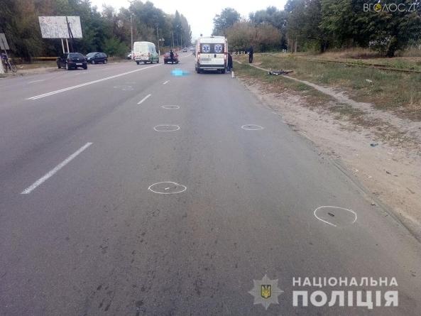 26-річний водій у Коростені насмерть збив велосипедиста