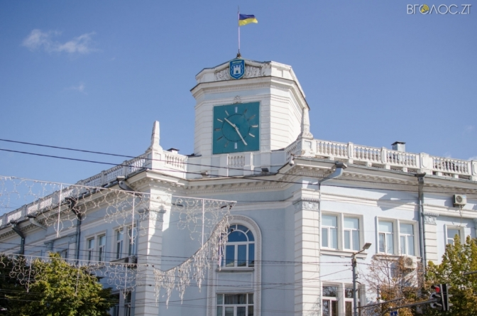 Депутати Житомирської міськради виділили гроші на заміну годинника на будівлі мерії