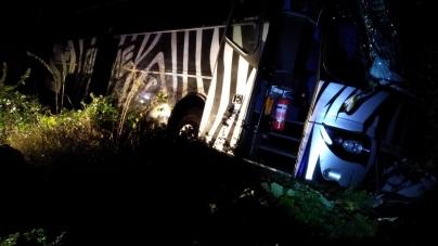 Під Новоградом міжнародний автобус з 52 пасажирами потрапив у ДТП
