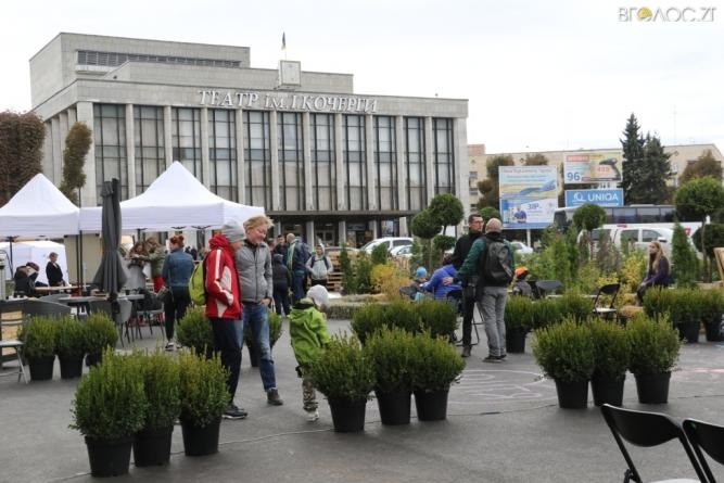 Як майдан Соборний на два дні перетворили на громадський простір (ФОТО)