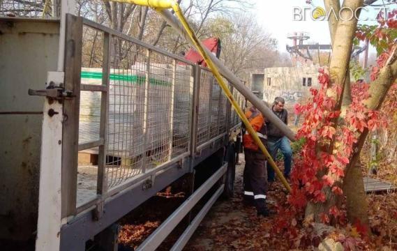 У Житомирі вантажівка пошкодила газопровід, залишивши кілька будинків без газу