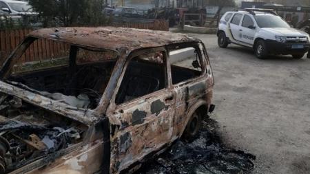 В Олевську підпалили автомобіль екологів, які приїхали перевіряти лісгосп