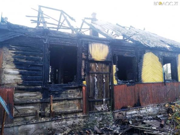 Жах! Під час пожежі на Житомирщині чоловік отримав опіків 70% тіла