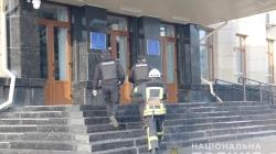 Біля Житомирської ОДА не знайшли вибухівку. Шукають автора анонімного листа з погрозою