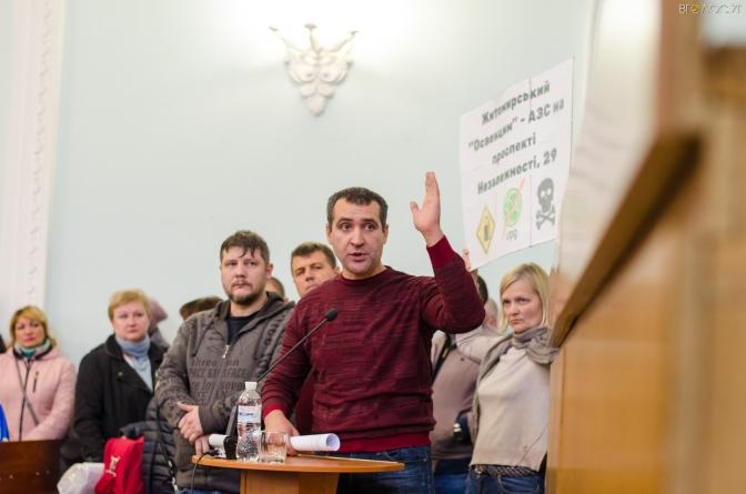Депутати Житомирської міськради скасували містобудівні умови по АЗС на проспекту Незалежності