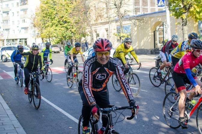 У Житомирі відбулися велоперегони GRAN FONDO ZHYTOMYR GOLD RACE