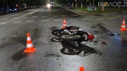 П'яний скутерист збив двох підлітків на пішохідному переході у Бердичеві