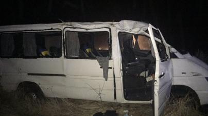 Вночі перекинувся автобус з пасажирами: постраждали 8 людей