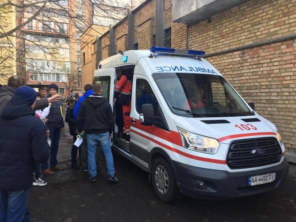 Через сутички з поліцією у центрі Києва стало погано жителю Житомирщини