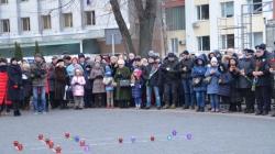 Перші особи області та міста проігнорували вшанування жертв голодомору у Житомирі (ФОТО)