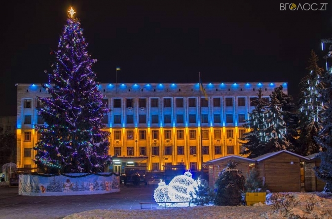 Стало відомо, як у Житомирі відзначатимуть новорічно-різдвяні свята