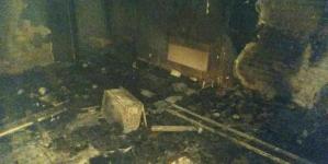 На Житомирщині підпалили поштове відділення. Згоріли товари та документи