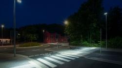Пішохідні переходи Коростеня обладнають підсвіткою
