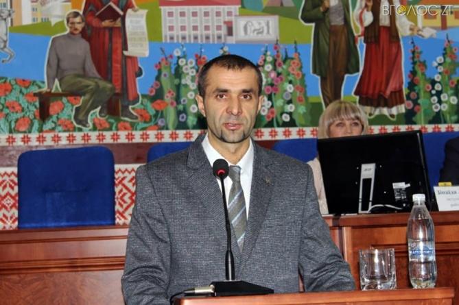 Новий голова Новоград-Волинської РДА задекларував зарплату слюсаря