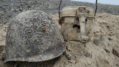 У Пулинському районі знайшли останки солдата, який загинув в липні 1941 року. Поруч із ним був малюнок дитини