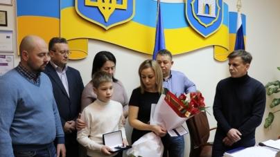 """Валерія Горба посмертно нагородили пам'ятним знаком """"За заслуги перед містом """" III ступеня"""
