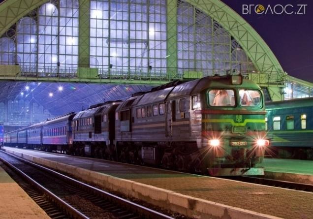 Під Новоградом швидкісний потяг насмерть збив чоловіка
