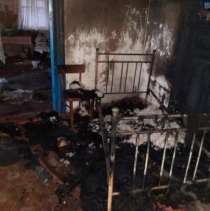 Житомирщина: вночі під час пожежі у сільському будинку загинув чоловік