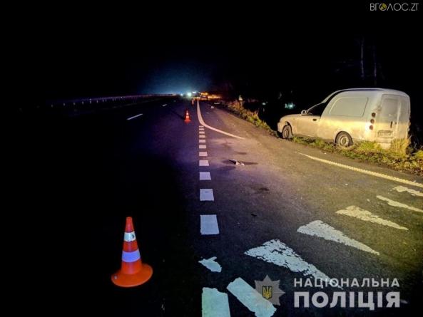 Вантажівка збила насмерть чоловіка, який зупинився поміняти колесо своєї автівки