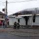 У Житомирі під час пожежі згорів магазин з продажу текстильних товарів(ФОТО)