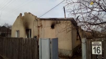 Брусилів: під час пожежі чоловік врятував із палаючої оселі трьох дітей та дружину