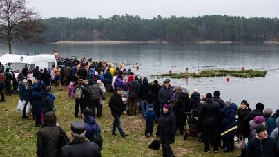 Як житомиряни святкували Водохреща (ФОТО)
