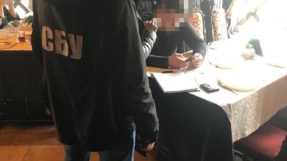 СБУ викрила чиновника Житомирської ОДА, який запровадив схему вимагання грошей від підприємців